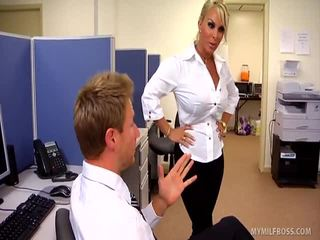 holly halston more, check uniform sex watch, hot blondes
