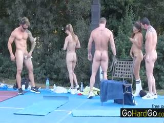najboljše group sex vroče, velike joške ocenjeno, glejte doggystyle kakovost