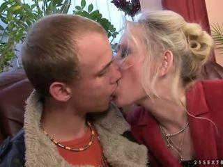 Mbah kurang ajar with her young boyfriend
