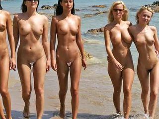 Nud plaja modă spectacol 2