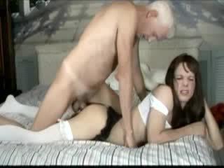 brunette, condom, anal
