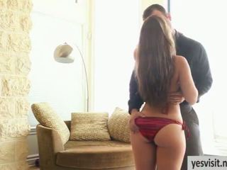 Glamcore scene with feisty Remy Lacroix and her partner
