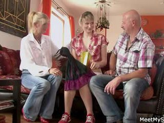 teens all, fun grannies nice, old+young full