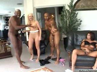 Melissa Lauren And Rocco Siffredi Hardcore Group Sex
