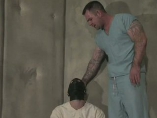 NoMad Is Diagnosed As A Masochist And This Guy's Locked Up For His Own Ball Creamd. Dak Is A Brutal Nurse Who Thinks That Chap\\\'s In Charge.