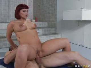 Sizzling Honey Carrie Ann Opens Her Mouth And Acquires A Nice Load Of Cock Juice