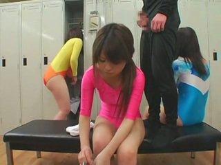 Schoolgirls dobili obrazno cumshots v unusual slog