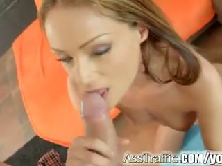 Sophie lynx gets göte sikişmek fucked and swallows gutarmak