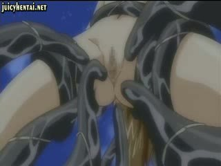 Laukinis anime penetrated iki tentacles