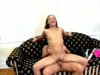 Slim Babe Riding Dick