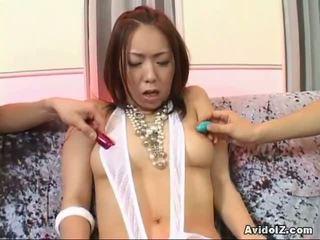 Horny Oriental Bitch Enjoys Toy Insertion