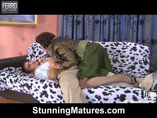 Emilia And Govard Irresistible Mamma Inside Action
