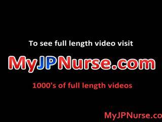Aki yatoh asiatique infirmière likes baise