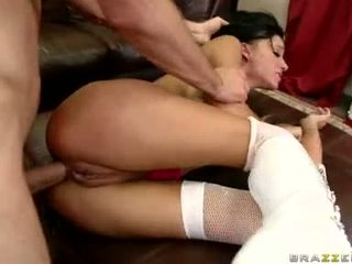 Sizzling babeh haley wilde is having enjoyment getting hammered on her inviting bokong