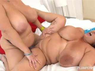 tits, chubby, lesbo, big natural tits