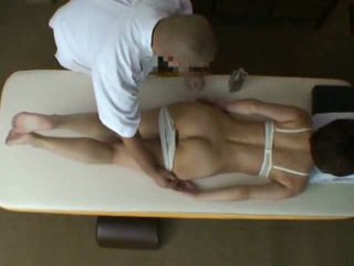 Reluctant Wife seduced by masseur
