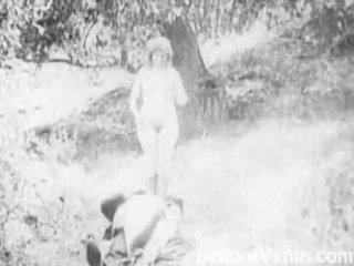 Piss: Antique Porn 1915 - A Free Ride