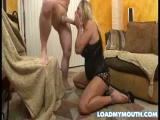 Debi diamond blows un grande bone