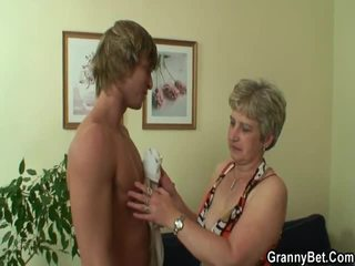 Aged Milf Has Stretched By An Young Fellow