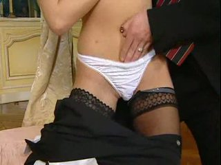 Brunette Russian hotel maid fucked Video
