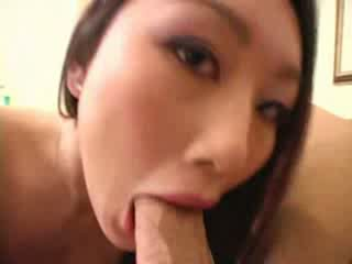 Tight asian Evelin Lin banged