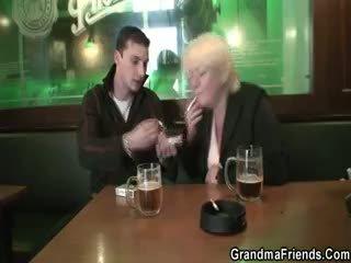 reality, granny, mature, blonde