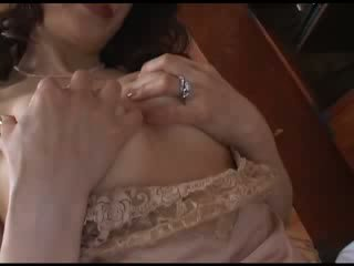 Japanese Mom Masturbating After Watching Porn Video