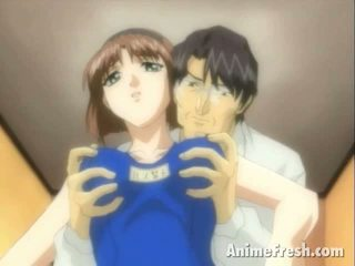Brown Haired Manga Sweetheart