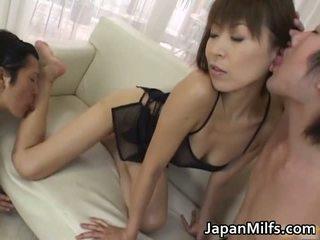 Fine ass slut Jun Kusanagi in gangbang part6