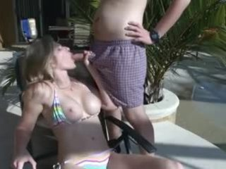 Blowjob from my stepmom