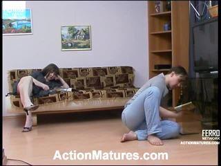 Elinor و morris جنسي الذين تتراوح أعمارهم بين فيديو