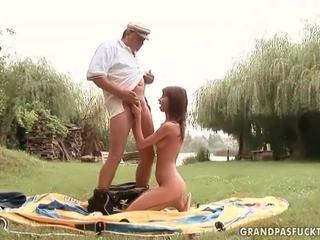 Grandpas ו - צעיר בנות סקס