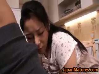 japonais, sexe de groupe, gros seins, pipe