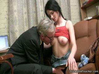 Schroef tiener seks hardcore