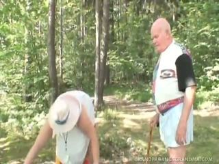 Aging Wife Watches Nubile Schoolgirl Riding Her Husband's Big Cock