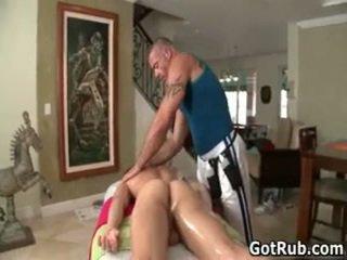 Massagen pro i djupt anala wrecking homosexual porr two av gotrub