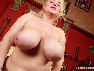 Bigtitted Heavy Samantha 38G Shaggs English Fan