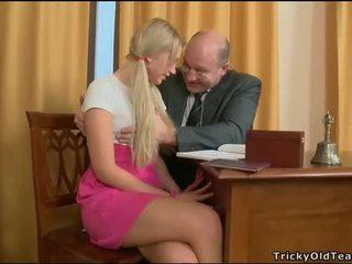 Delighting two künti teachers