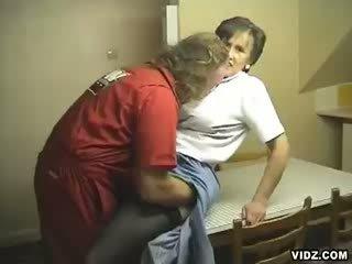 Granny needs dick seduces clueless mechanic