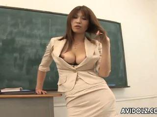 뜨거운 거유 ai kurosawa 더러운 선생 와 거대한