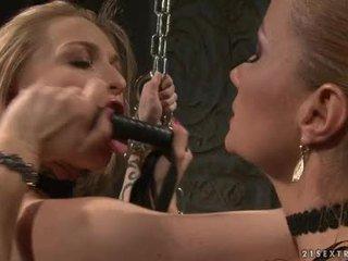 Katy Borman Tortured By Slutty Hottie With Chain