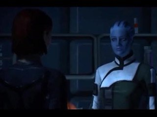 mass effect meets blue is the only colour