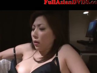 Asian MILF maid tied and made to cum(2)