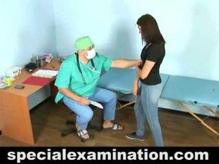 23 yo vika and horny gynecologist