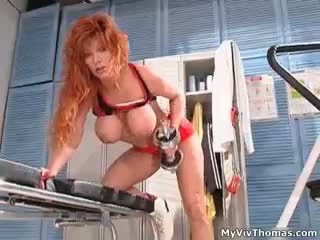 Sexy Redhead Slut Goes Crazy Showing Off Part1