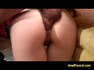 French gals are anal fucked in orgy