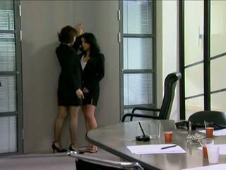 нов пола най-горещите, реален офис виждам, пресен лесбийка