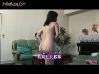 Japońskie mama seduced przez salesman