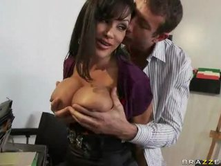Facesitting At Work With Lisa Ann