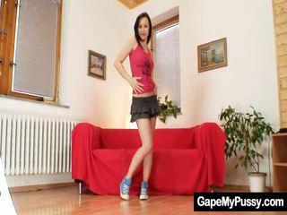 Little Teen Agata Kinky Cookie Wide Open